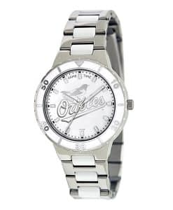 Baltimore Orioles Ladies Quartz Analog Pearl Watch