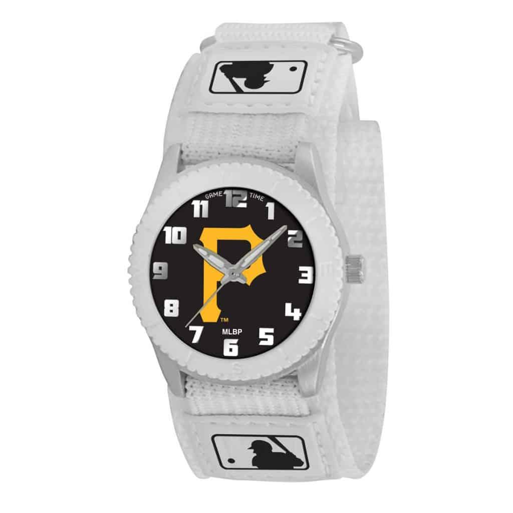 watches pittsburgh pirates p logo unisex quartz analog rookie watch