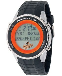 Baltimore Orioles Mens LCD Schedule Watch