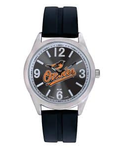 Baltimore Orioles Mens Quartz Analog Varsity Watch