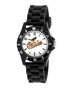 Baltimore Orioles Mens Quartz Analog Wildcat Watch