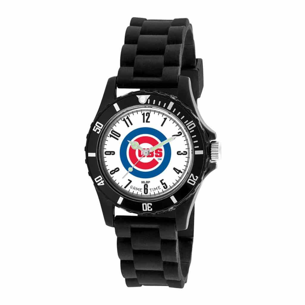 Chicago Cubs Mens Quartz Analog Wildcat Watch