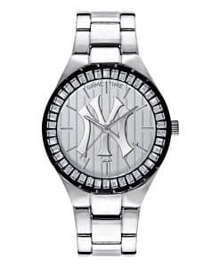 New York Yankees Pinstripe Ladies Quartz Analog Winner Watch