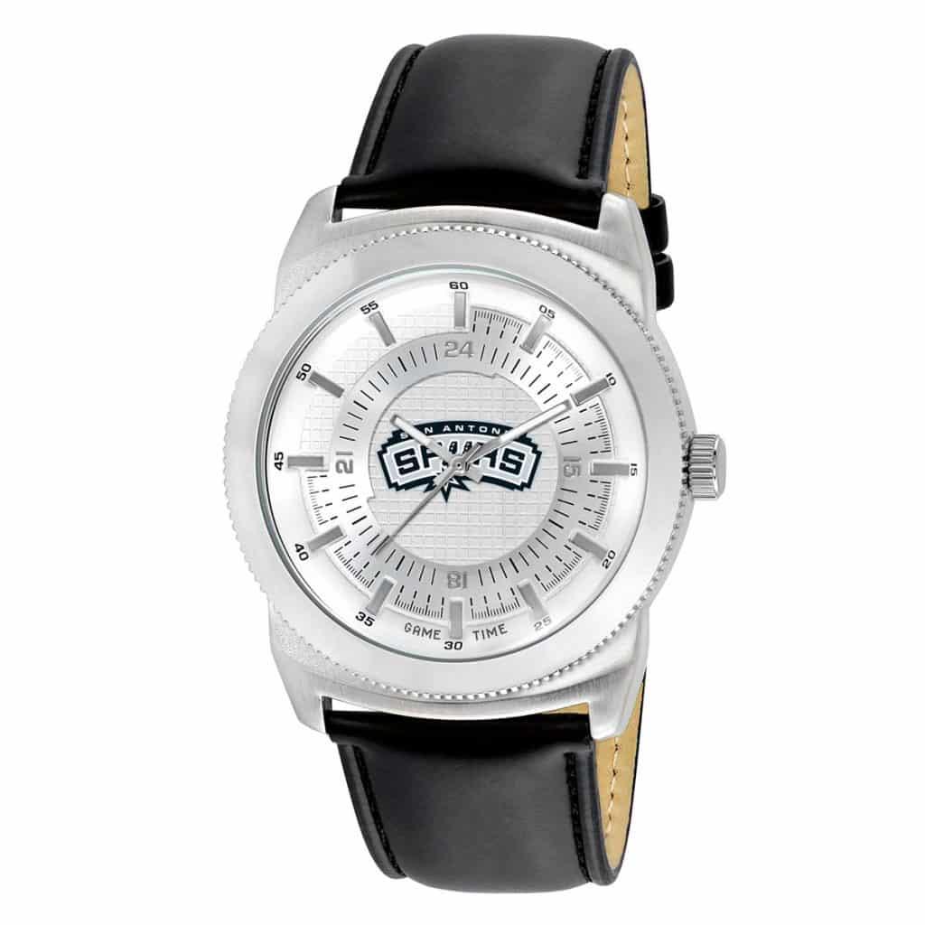 best service 288ea 7e8e8 San Antonio Spurs Mens Quartz Analog Vintage Watch