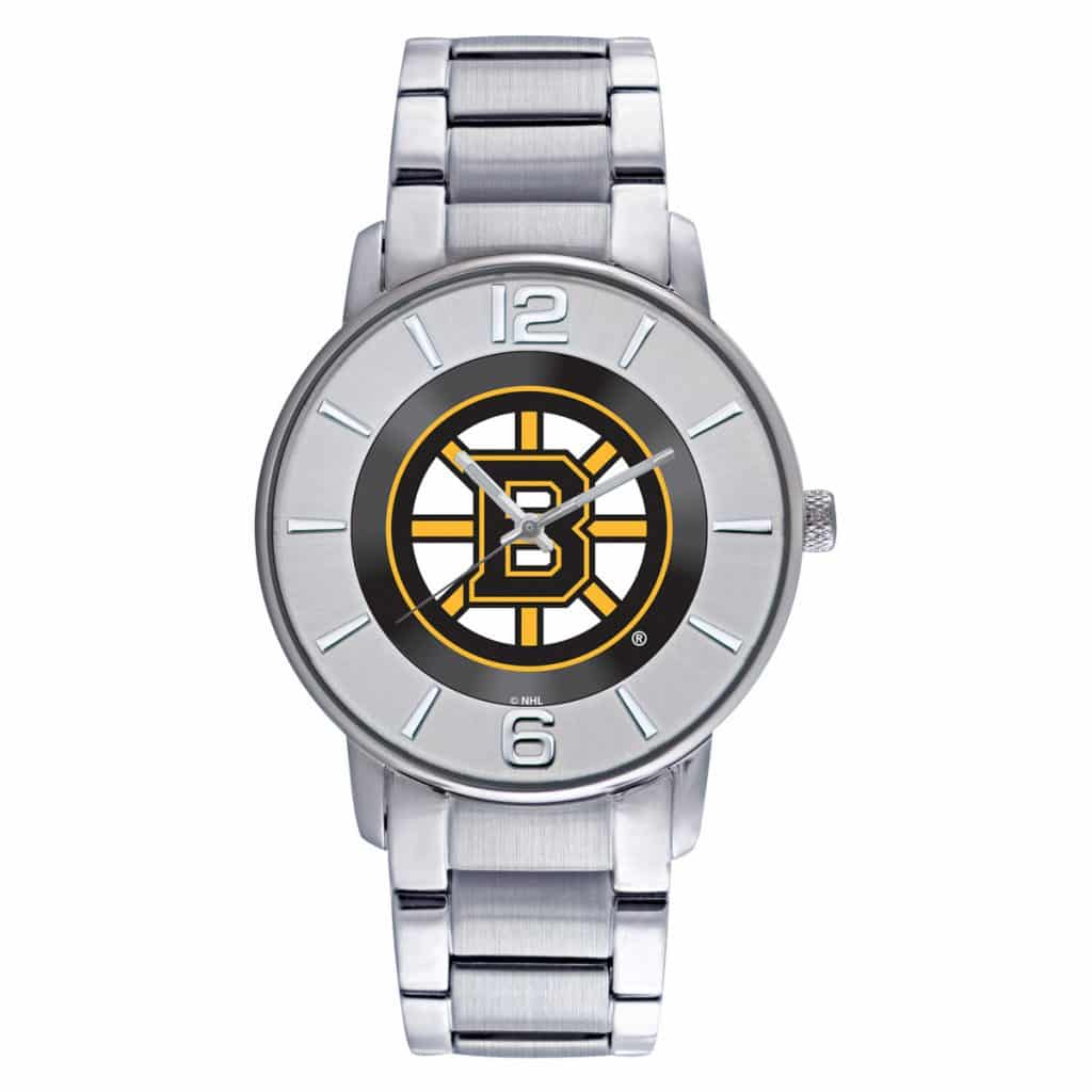 Boston Bruins Mens Quartz Analog All Pro Watch