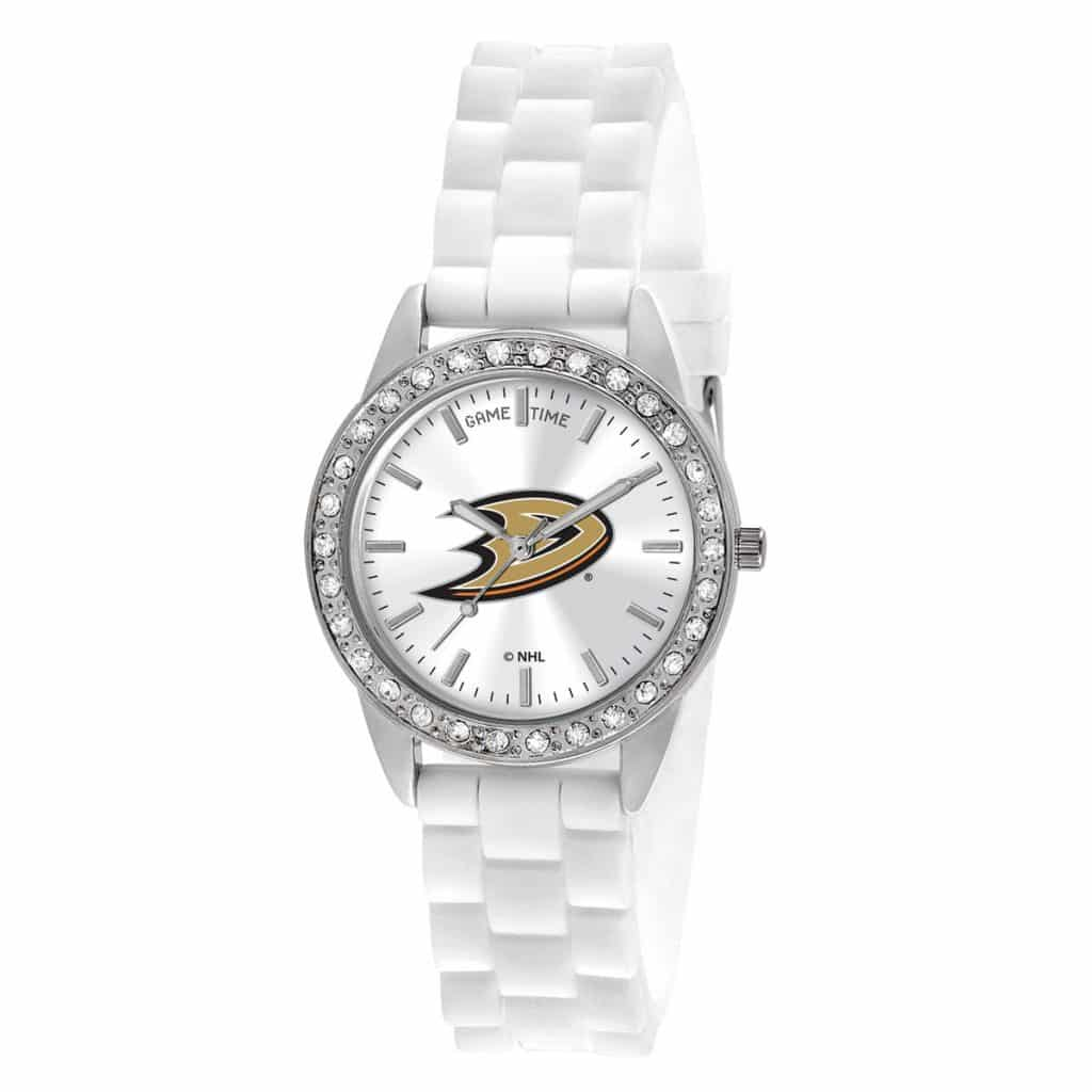 Anaheim Ducks Ladies Quartz Analog Frost Watch