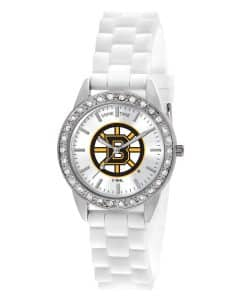 Boston Bruins Ladies Quartz Analog Frost Watch