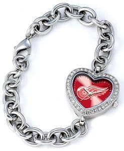 Detroit Red Wings Ladies Heart Watch