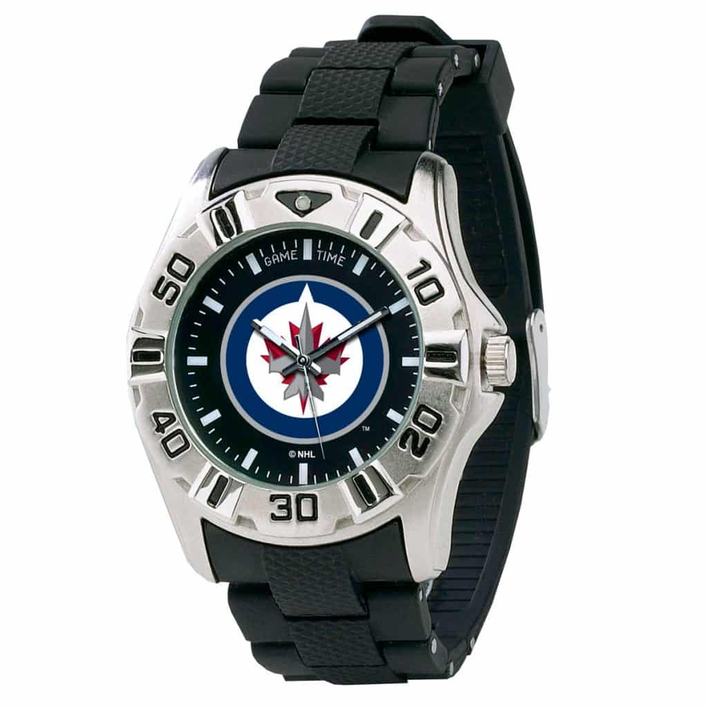 winnipeg jets mens quartz analog mvp detroit gear