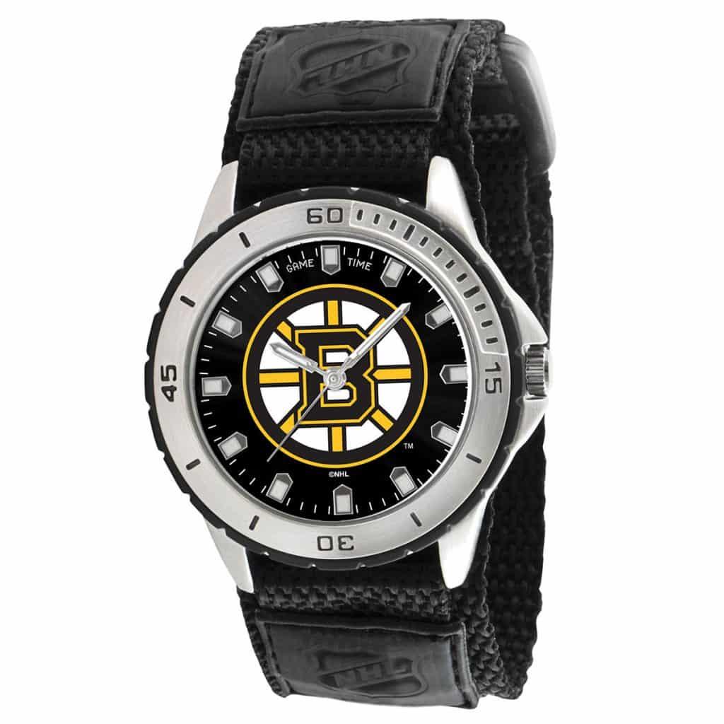 Boston Bruins Mens Quartz Analog Veteran Watch