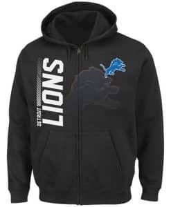 Detroit Lions Touchback Full Zip Hoodie