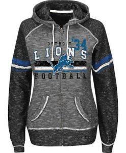 Detroit Lions Women's Full Zip Hoodie