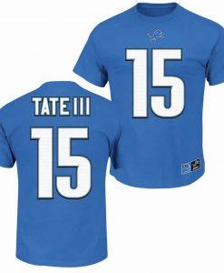 Golden Tate III Detroit Lions Player T-Shirt