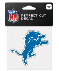 Detroit Lions 4x4 Perfect Cut Color Decal
