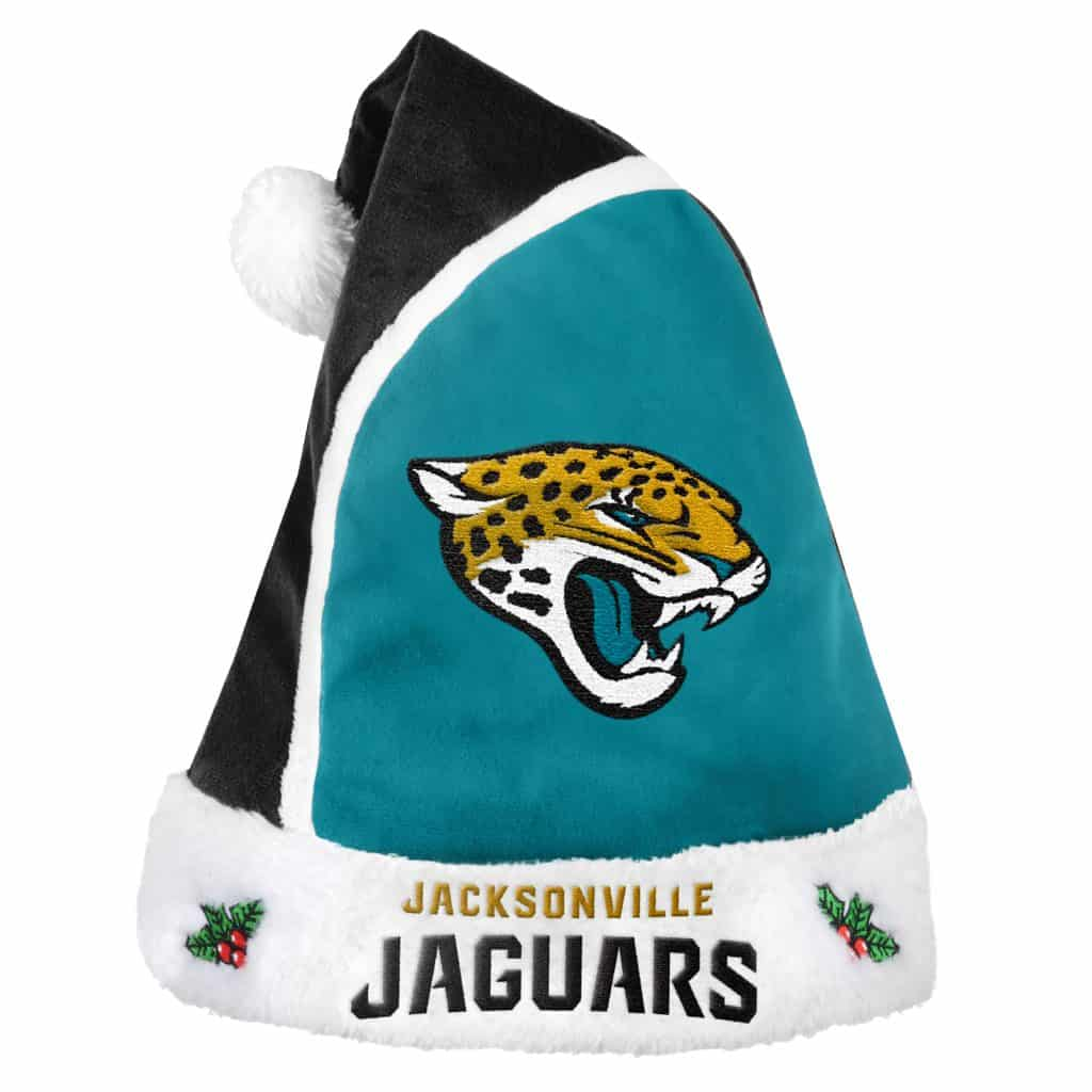 Jacksonville Jaguar Apparel: Jacksonville Jaguars 2015 Christmas Santa Hat