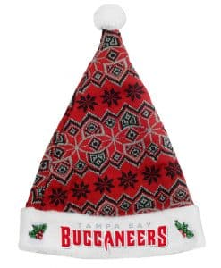 Tampa Bay Buccaneers 2015 Knit Christmas Santa Hat
