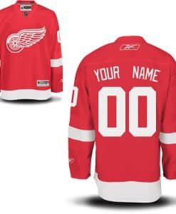 Red Wings CUSTOM Adult Home Jersey