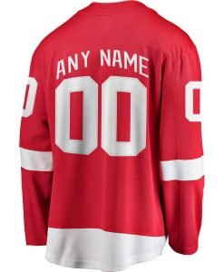 Detroit Red Wings CUSTOM Youth Replica Home Jersey