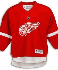 Detroit Red Wings Kids Reebok Replica Home Jersey 4-7