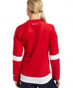 Detroit Red Wings Womens Reebok Premier Home Jersey Back