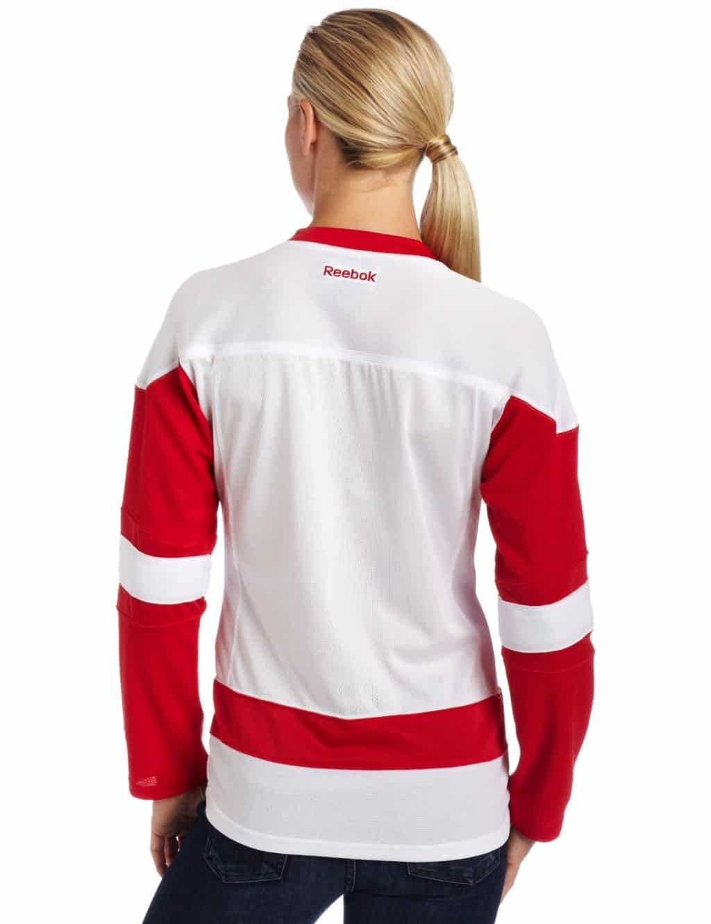 Detroit Red Wings Womens Reebok Road Jersey