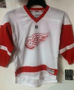 Detroit Red Wings Kids Reebok Replica Road Jersey 4-7