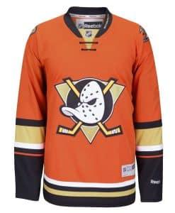 Anaheim Ducks Adult Reebok Premier Alternate Jersey