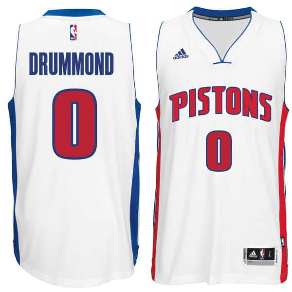Drummond Adidas Home Swingman Jersey