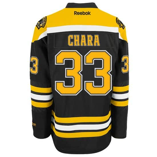 Chara Boston Bruins Premier Home Jersey