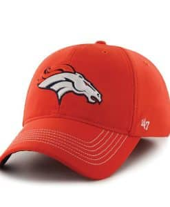 Denver Broncos NFL 47 Brand Orange Stretch Fit Hat