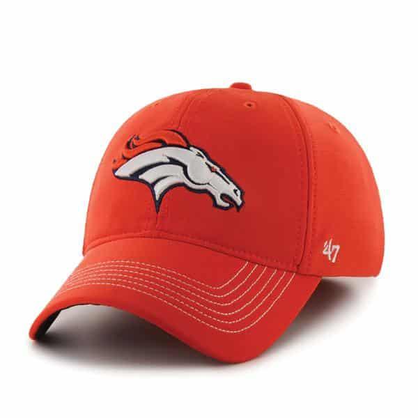 Denver Broncos NFL 47 Brand Orange Stretch Fit Hat
