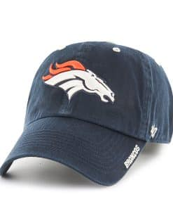 Denver Broncos 47 Brand Navy Ice Adjustable Hat