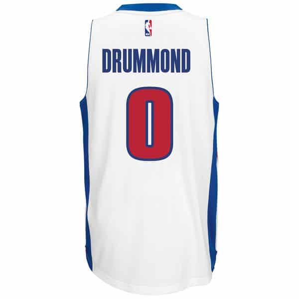 Drummond Pistons Adidas Home Swingman Jersey