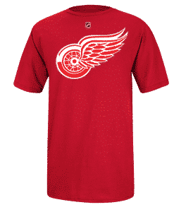 Red Wings Player Tee
