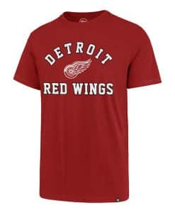 Detroit Red Wings Men's 47 Brand Red Rival T-Shirt Tee