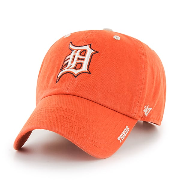 Detroit Tigers Orange Clean Up Adjustable Hat