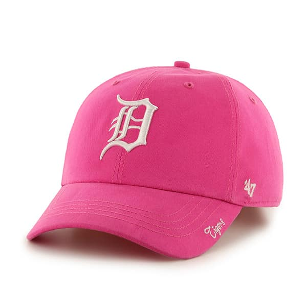 Detroit Tigers 47 Brand Pink Miata Clean Up Adjustable Hat