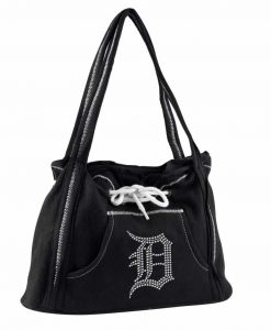 Detroit Tigers Black Noir Hoodie Purse