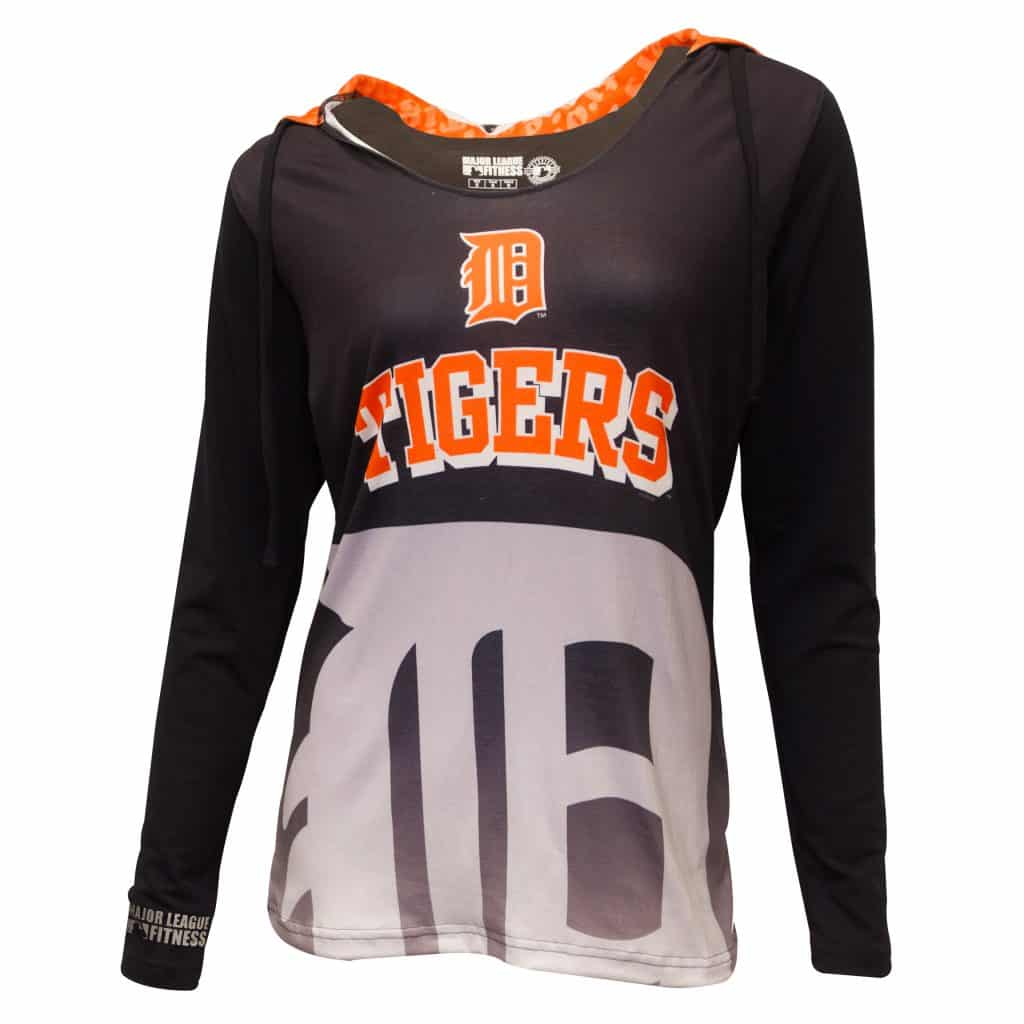 Detroit Tigers Women's Cameo Hoodie