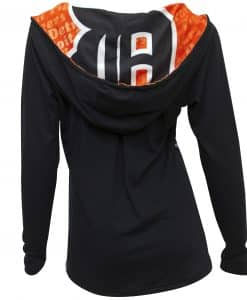 Detroit Tigers Cameo Hoodie Back