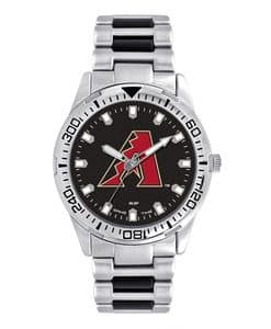 Arizona Diamondbacks Mens Quartz Analog Silver Heavy Hitter Watch