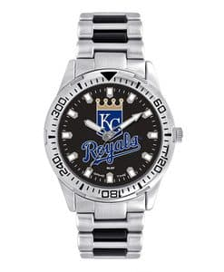 Kansas City Royals Mens Quartz Analog Silver Heavy Hitter Watch