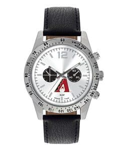 Arizona Diamondbacks Mens Quartz Analog Letterman Watch