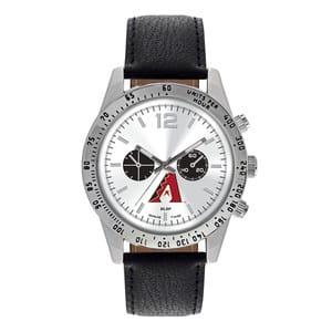 Arizona Diamondbacks Mens Quartz Analog Letterman Watch