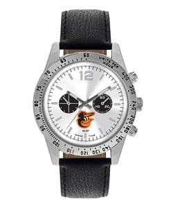 Baltimore Orioles Mens Quartz Analog Letterman Watch