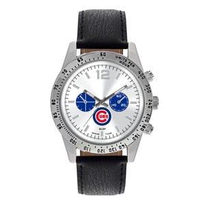 Chicago Cubs Mens Quartz Analog Letterman Watch