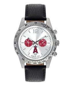 Los Angeles Angels Mens Quartz Analog Letterman Watch