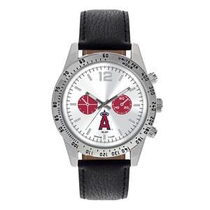 Los Angeles Angels Mens Quartz Analog Letterman Watch