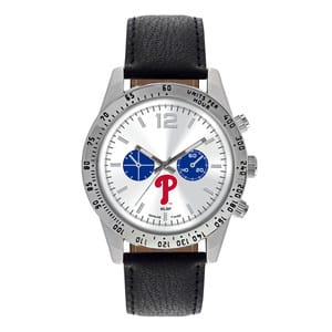 Philadelphia Phillies Mens Quartz Analog Letterman Watch