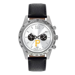 Pittsburgh Pirates Mens Quartz Analog Letterman Watch